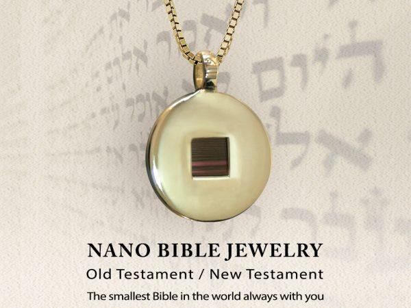 How to get beautiful nano Bible pendant